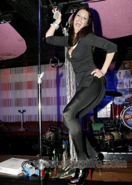 Janice dickinson pantyhose