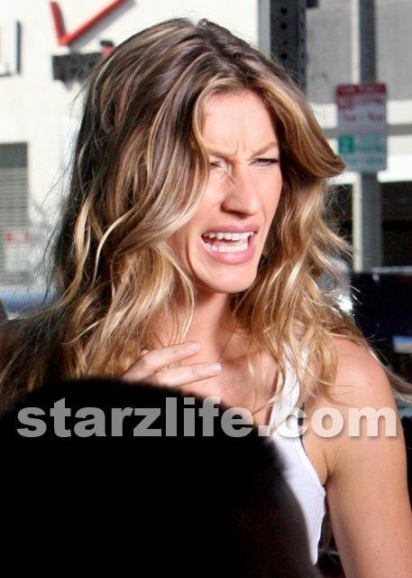 Did Gisele Put Her Foot Down?