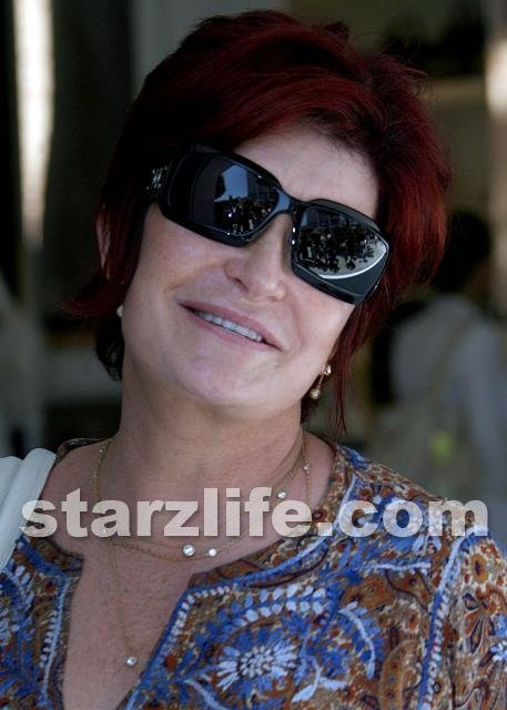 sharon osbourne blonde hair styles