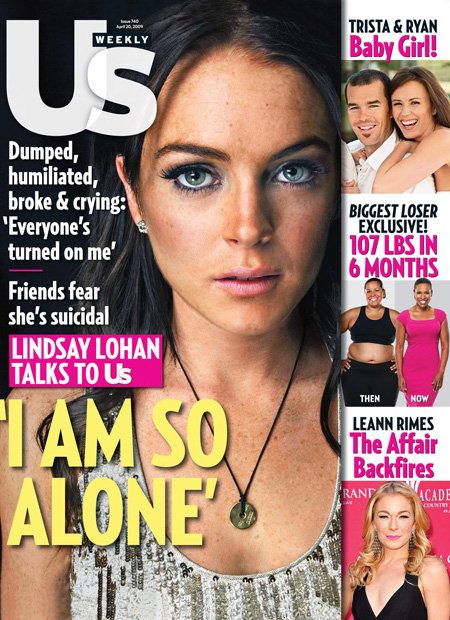Dumped, Humiliated, Broke, Suicidal.  4 Words Everyone Wants Next to their Photo on the Cover of a Magazine.