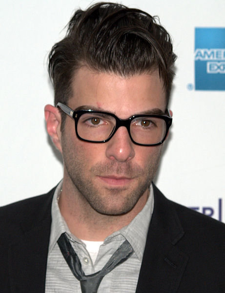Zachary Quinto Robs a Bakery at Gunpoint, Maybe?