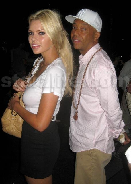 EXCLUSIVE!!! Russell Simmons and Sophie Monk