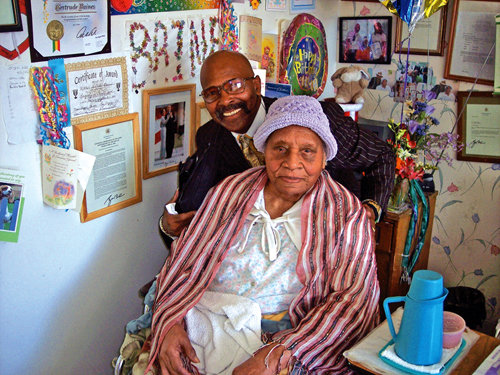 The Worlds Oldest Person Dies   In  L.A!