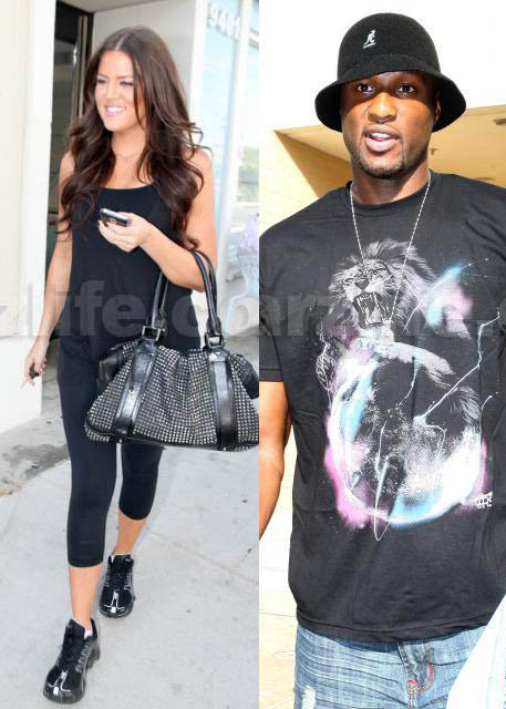 Khloe & Lamar's Reality Show Causing Drama At Staples Center?
