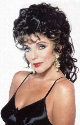 Joan Collins Has Landed In L.A!