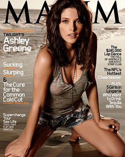 Something Ashley greene maxim hot casually