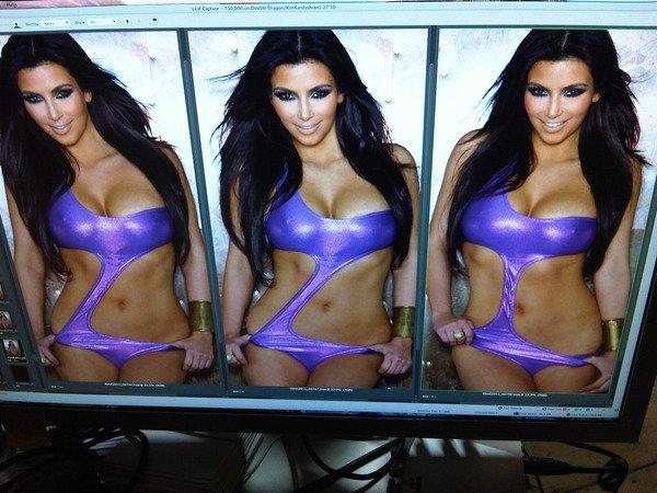Kim Kardashian: Kim Kardashian: Photoshop Free