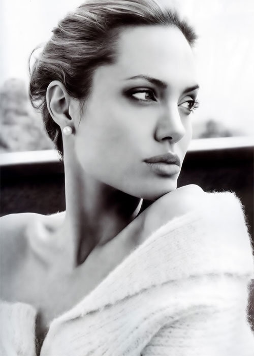 angelina jolie modeling photos. featuring Angelina Jolie