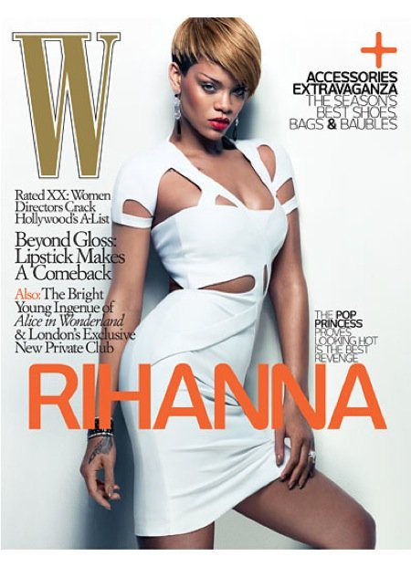 Rihanna Wows on the Cover of W