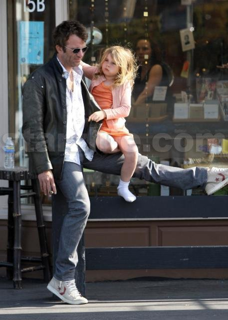Thomas Jane and Daughter; Second Hand Smoke