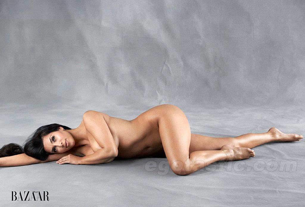 kim kardashian nude harpers bazaar 01 Shaved Pussy Lips. pussy bikini