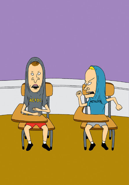 MTV Announces Return of Beavis and Butthead