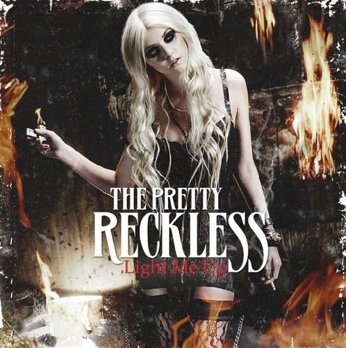 taylor momsen: Taylor Momsen On Fire in New Promo For 'The Pretty Reckless'