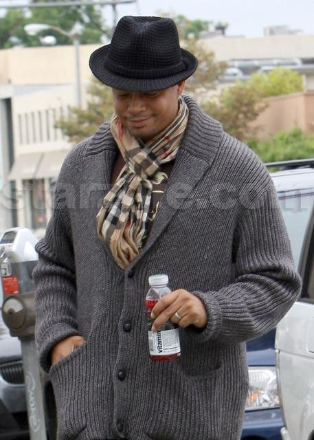 Terrence Howard Shops Luxury on the Cheap