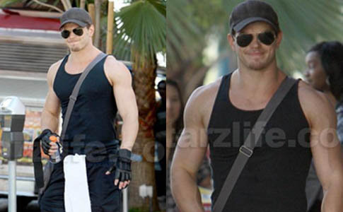 Kellan Lutz: Gym Rat