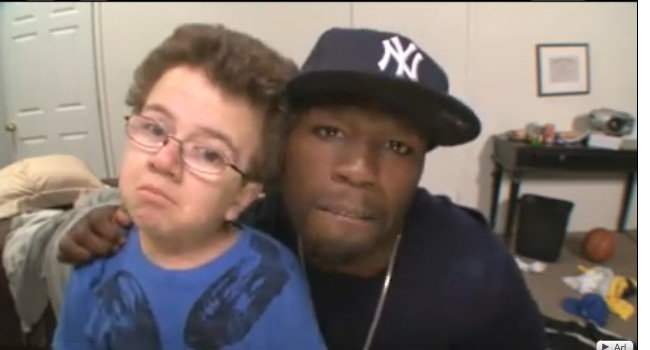 Keenan Cahill: Keenan Cahill and 50 Cent on Chelsea Lately!