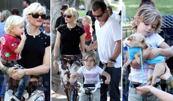 Gwen Stefani: Family Day in the Park