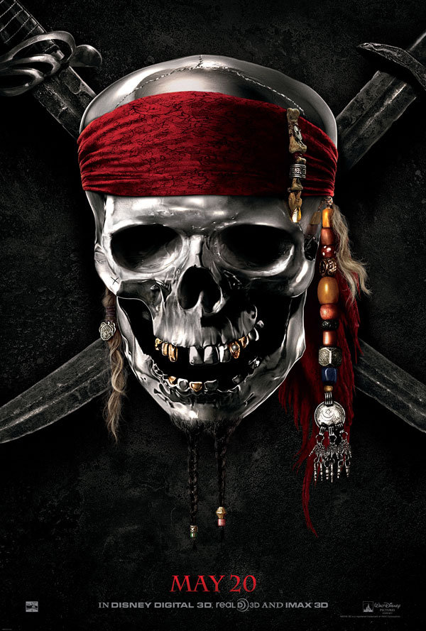 First Trailer For Pirates of the Caribbean 4 !!
