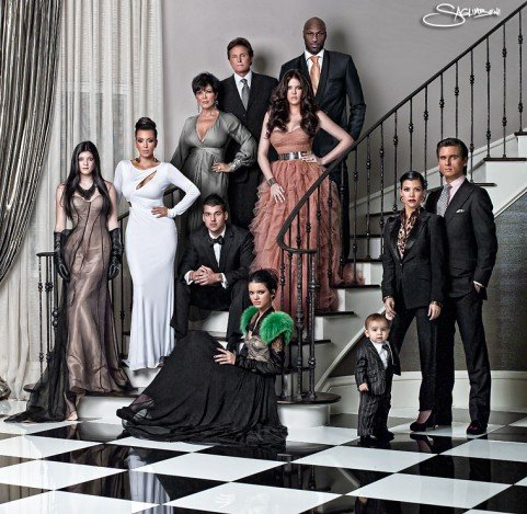 Kardashian Krismas Photo!