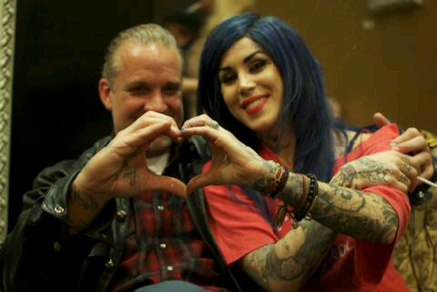 Kat Von D and Jesse James Are On Again