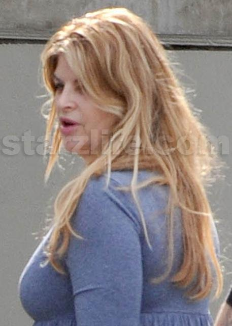 Kirstie Alley Has Another Rough Day At The Office