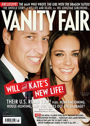 Never Before Seen Engagement Photo Of Prince William and Kate Middleton Covers Vanity Fair