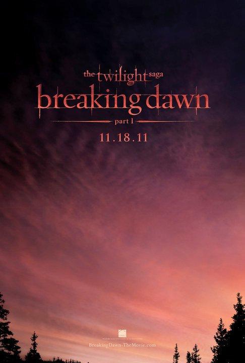 First Poster For Breaking Dawn: Part One Released Today