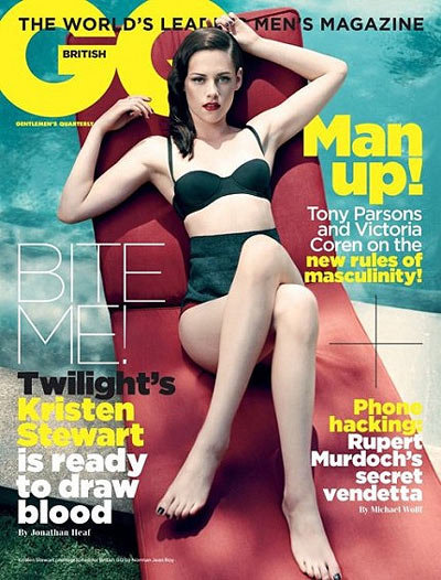 Kristen Stewart Covers GQ