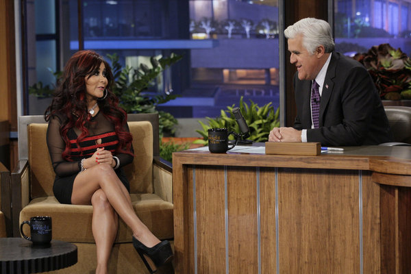 Jay Leno Gets Snookified By Snooki On The Tonight Show