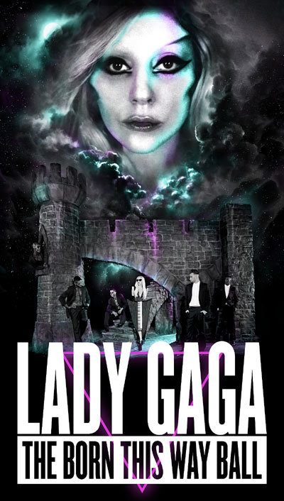 Lady Gaga Announces Born This Way Ball