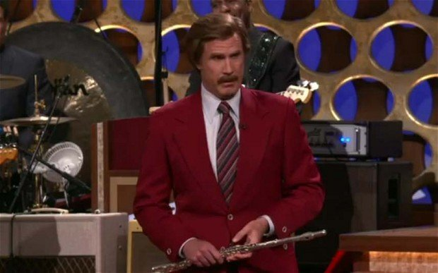 Ron Burgundy Officially Announces Anchorman 2