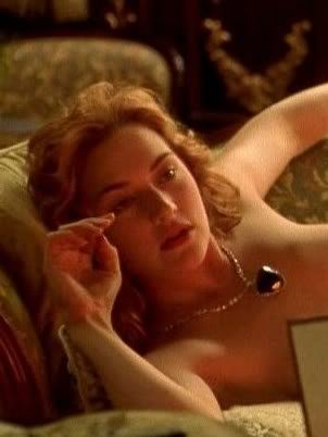 titanic breast in Kate winslet