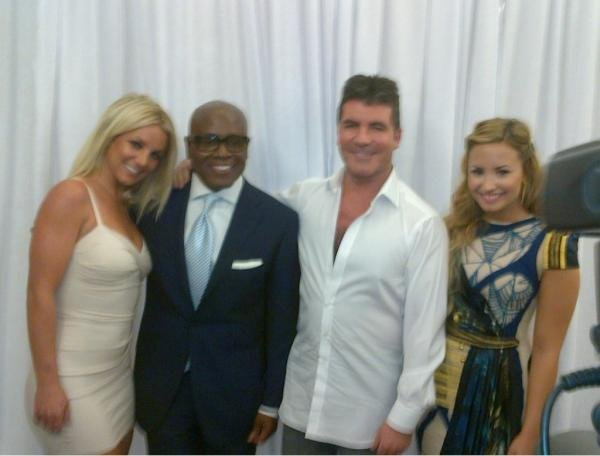 Your First Official Look At The New X Factor Panel