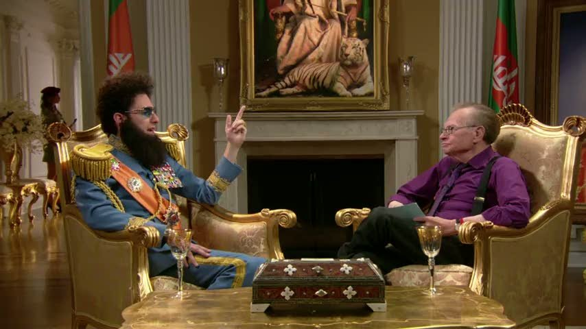 Larry King Interviews The Dictator