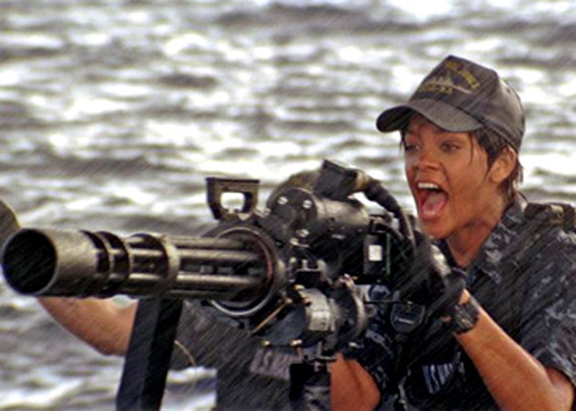 Battleship Director Feared Rihanna Would Be Eaten By A Shark