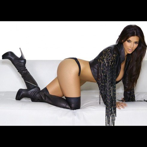 Happy Friday From Kim Kardashian!