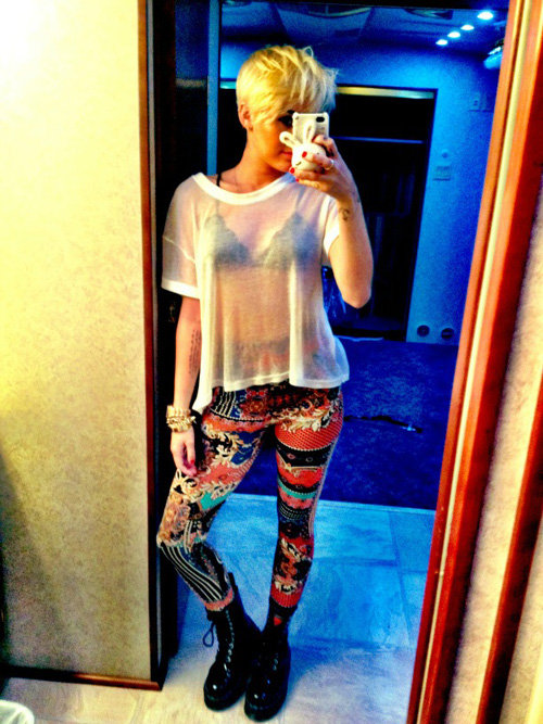 Miley Cyrus Is Having A Crazy Pants Day