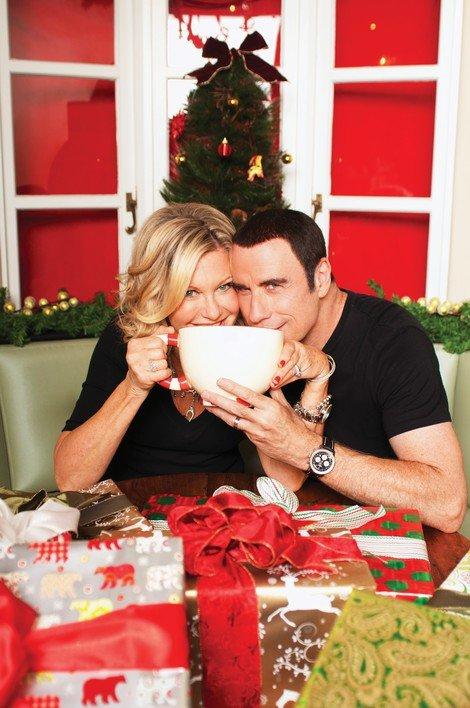 john travolta olivia newton john release first video for christmas album - Olivia Newton John This Christmas